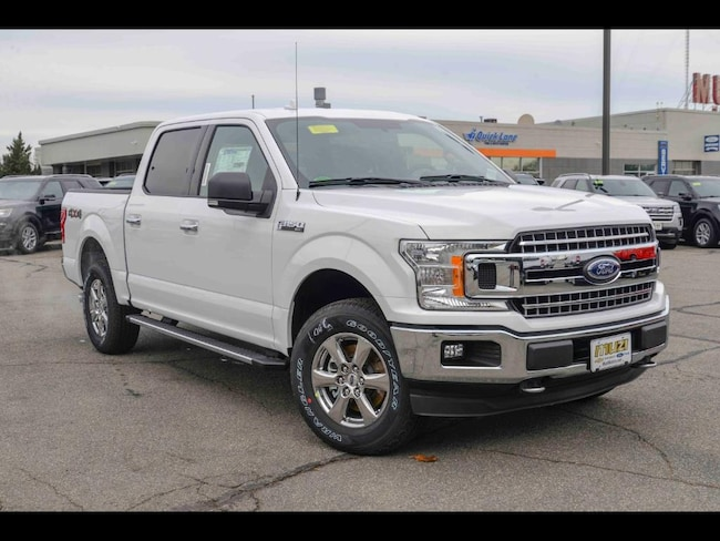 New 2018 Ford F-150 XLT Truck SuperCrew Cab for sale near Boston, MA at Muzi Ford