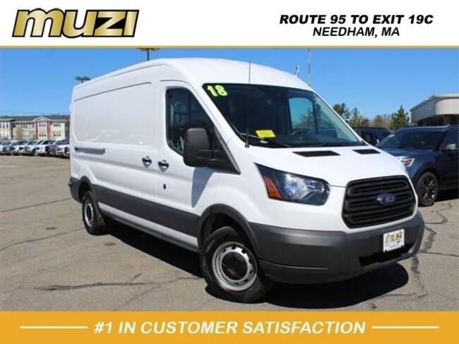 Used 2018 Ford Transit Cargo 250 for sale near Boston, MA at Muzi Ford