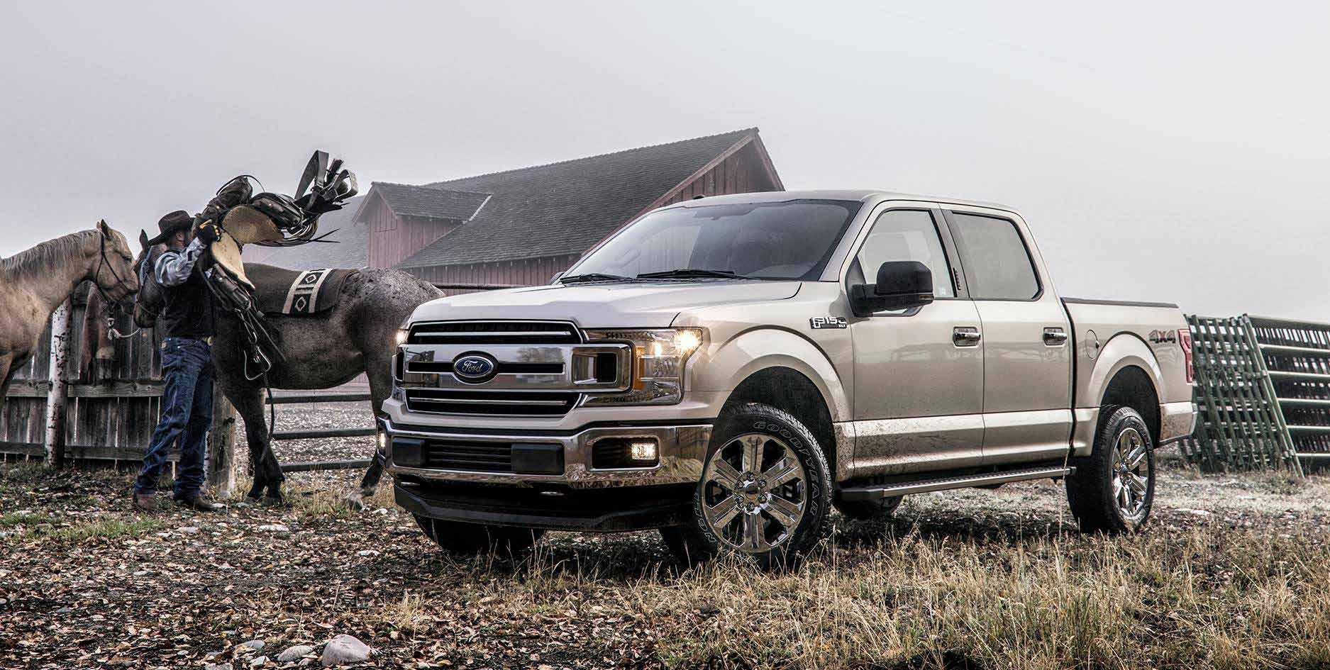 The new 2018 ford f 150