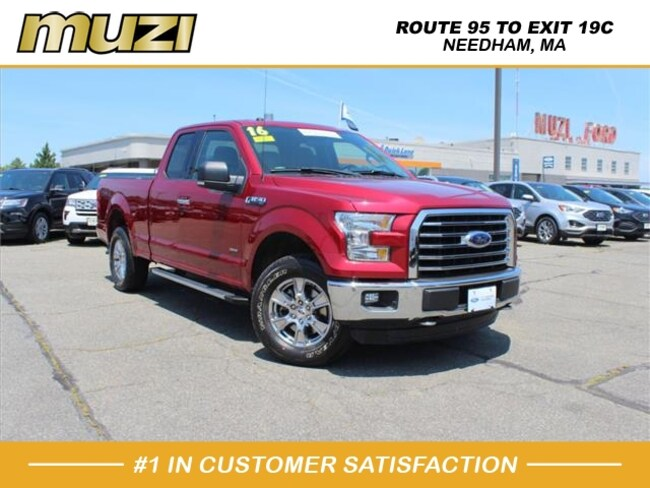 Certified 2016 Ford F-150 XLT for sale near Boston, MA at Muzi Ford