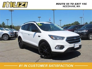 Certified 2017 Ford Escape SE for sale near Boston MA at Muzi Ford