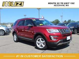 Certified 2016 Ford Explorer XLT for sale near Boston MA at Muzi Ford
