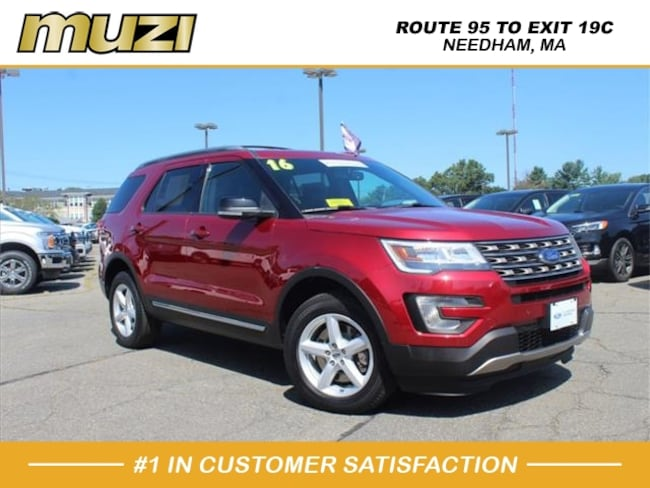 Certified 2016 Ford Explorer XLT for sale near Boston, MA at Muzi Ford