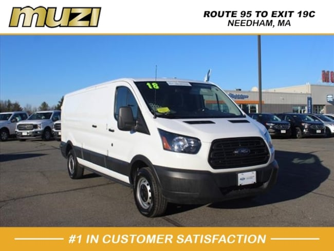 Certified 2018 Ford Transit Cargo 150 for sale near Boston, MA at Muzi Ford