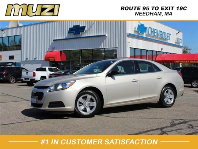 Certified 2016 Chevrolet Malibu Limited LS for sale near Boston, MA at Muzi Ford