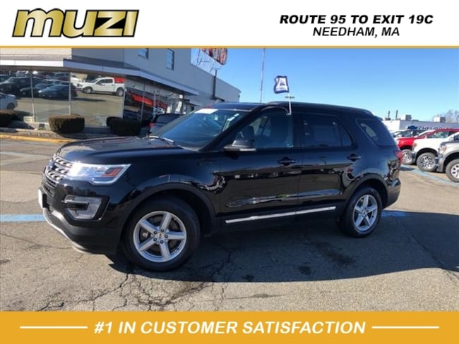Used 2017 Ford Explorer XLT for sale near Boston, MA at Muzi Ford