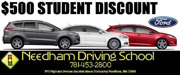 Muzi Ford Needham Driving School Student Discount
