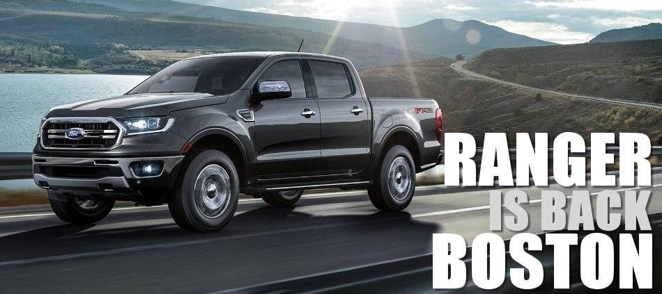 2019 Ford Ranger Lease Deals At Muzi Ford Serving Boston Newton
