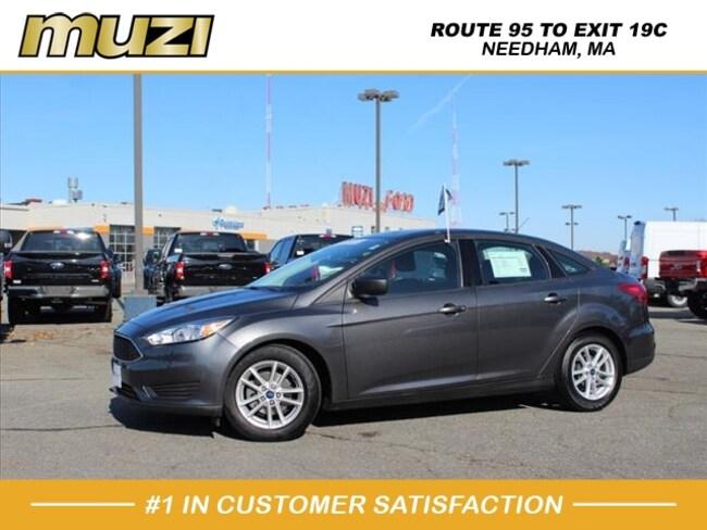 Used 2018 Ford Focus SE for sale near Boston, MA at Muzi Ford