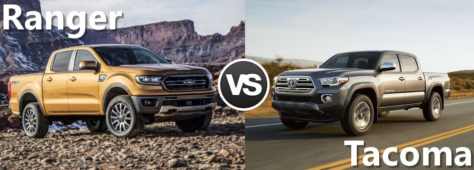 2019 Ford Ranger Vs 2019 Toyota Tacoma Boston Ma