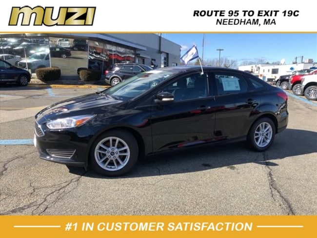 Used 2017 Ford Focus SE for sale near Boston, MA at Muzi Ford
