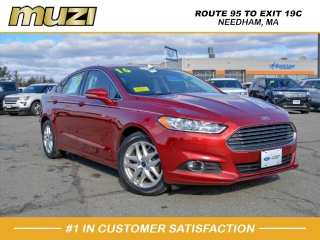 Certified 2016 Ford Fusion SE for sale near Boston, MA at Muzi Ford