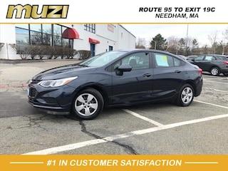 Used 2016 Chevrolet Cruze LS Auto for sale near Boston at Muzi Ford