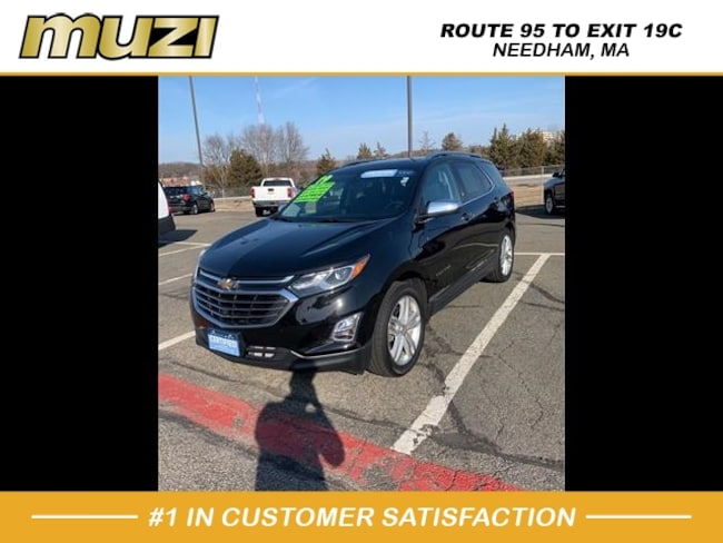 Used 2019 Chevrolet Equinox Premier for sale near Boston, MA at Muzi Ford