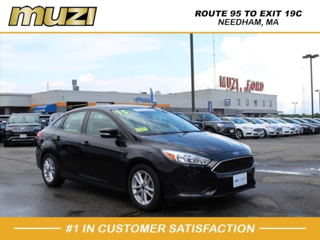 Certified 2015 Ford Focus SE for sale near Boston, MA at Muzi Ford