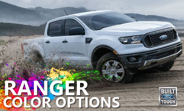 Muzi Ford What Are The 2019 Ford Ranger Color Options