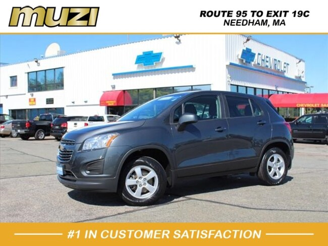 Used 2016 Chevrolet Trax LS for sale near Boston, MA at Muzi Ford
