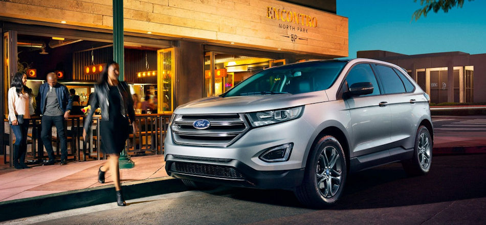 Learn More About The All New  Ford Edge Lease Deals Now Available At Muzi Ford