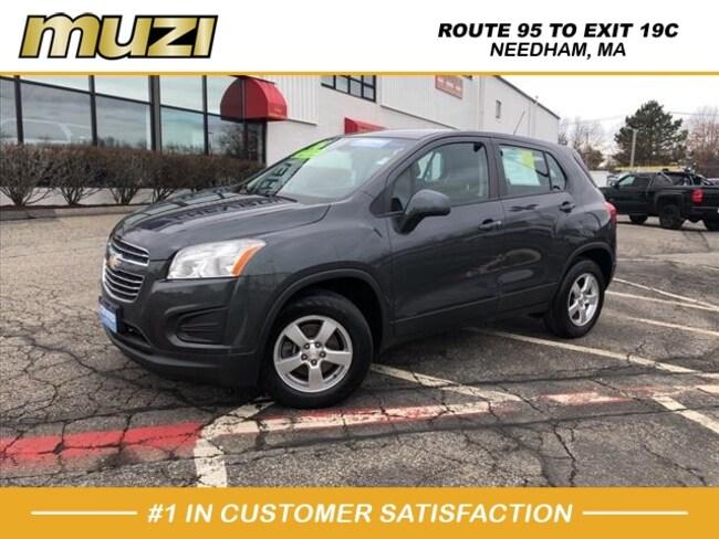 Used 2016 Chevrolet Trax LS for sale near Boston, MA at Muzi Ford