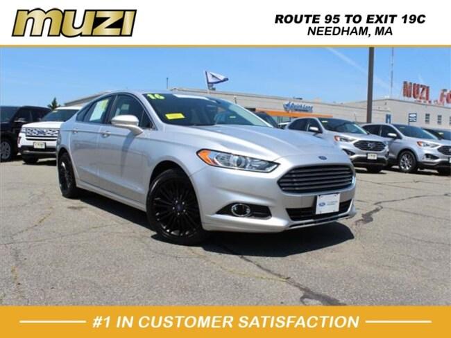 Certified 2016 Ford Fusion SE for sale near Boston, MA at Muzi Ford