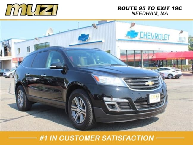 Certified 2016 Chevrolet Traverse LT for sale near Boston, MA at Muzi Ford