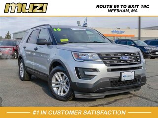 Certified 2016 Ford Explorer Base for sale near Boston MA at Muzi Ford