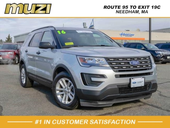 Certified 2016 Ford Explorer Base for sale near Boston, MA at Muzi Ford