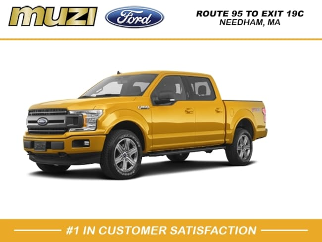 New 2020 Ford F-150 XLT Truck SuperCrew Cab for sale near Boston, MA at Muzi Ford