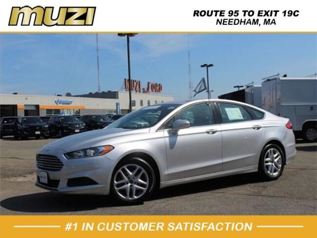 Used 2016 Ford Fusion SE for sale near Boston, MA at Muzi Ford