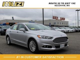 Used 2015 Ford Fusion Energi SE Luxury for sale near Boston at Muzi Ford