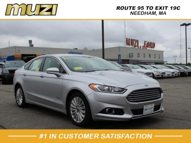 Certified 2015 Ford Fusion Energi SE Luxury for sale near Boston, MA at Muzi Ford