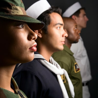 Veteran & Active Service Discount