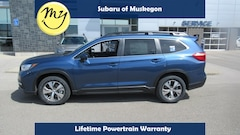 New 2019 Subaru Ascent Premium SUV 4S4WMACD7K3457548 for sale in Muskegon, MI at Subaru of Muskegon