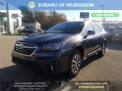 New 2021 Subaru Outback Premium WAGON 4S4BTADC8M3119490 for sale in Muskegon, MI at Subaru of Muskegon