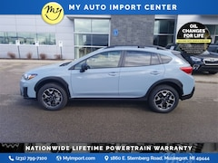 New 2020 Subaru Crosstrek Base JF2GTABC1L8234951 for sale in Muskegon, MI at Subaru of Muskegon