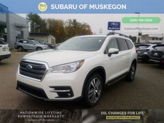 New 2021 Subaru Ascent Limited 7-Passenger SUV 4S4WMAPD2M3417522 for sale in Muskegon, MI at Subaru of Muskegon