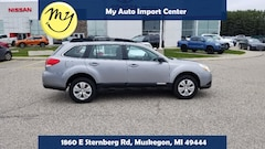 Used 2011 Subaru Outback 2.5i SUV 4S4BRCAC9B3401858 for sale in Muskegon, MI at Subaru of Muskegon