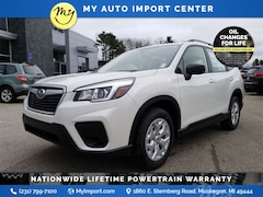 New 2020 Subaru Forester Base SUV JF2SKADC5LH495963 for sale in Muskegon, MI at Subaru of Muskegon