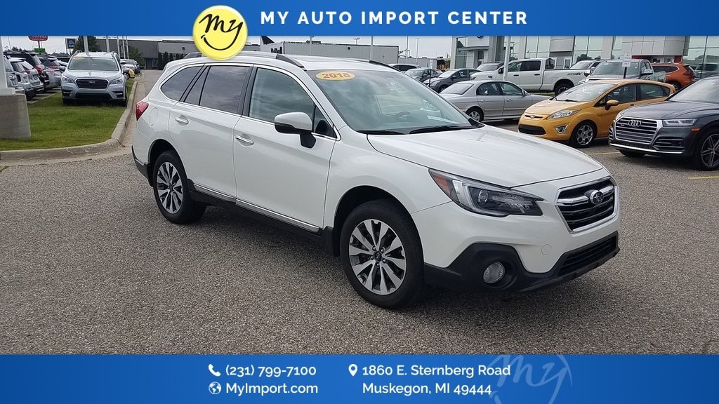 Used Used 2018 Subaru Outback 2 5i Touring For Sale Muskegon | Used Cars,  Used Car Dealer - 4S4BSATC6J3269873