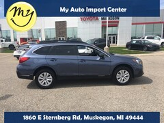 Used 2018 Subaru Outback 2.5i Premium SUV 4S4BSACC7J3237997 for sale in Muskegon, MI at Subaru of Muskegon