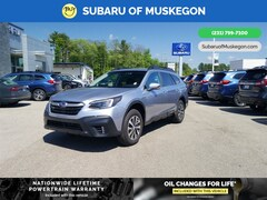 New 2020 Subaru Outback Premium WAGON 4S4BTACC5L3177475 for sale in Muskegon, MI at Subaru of Muskegon
