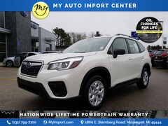New 2020 Subaru Forester Base SUV JF2SKADC0LH494784 for sale in Muskegon, MI at Subaru of Muskegon