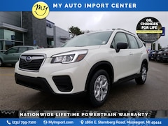 New 2020 Subaru Forester Base SUV JF2SKADC4LH497669 for sale in Muskegon, MI at Subaru of Muskegon