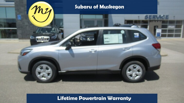 New 2019 Subaru Forester Base SUV JF2SKAAC7KH519781 in Muskegon