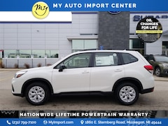 New 2020 Subaru Forester Base SUV JF2SKADC9LH523960 for sale in Muskegon, MI at Subaru of Muskegon