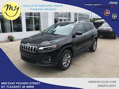 New 2019 Jeep Cherokee LATITUDE PLUS 4X4 Sport Utility 1C4PJMLB2KD468887 for sale in Mt Pleasant, MI