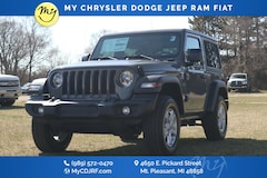 New 2020 Jeep Wrangler SPORT S 4X4 Sport Utility for sale in Mt Pleasant, MI