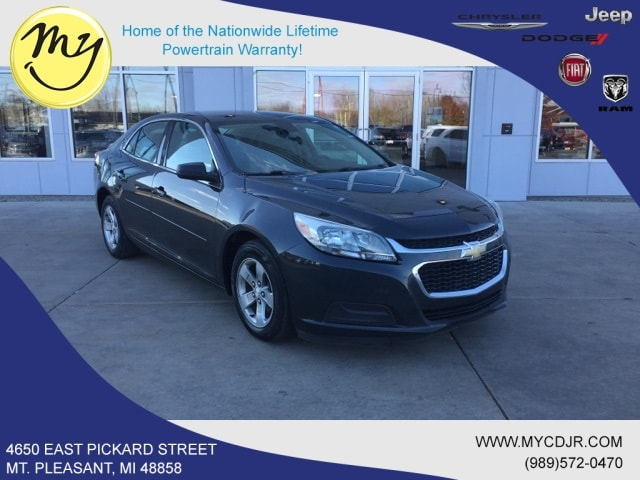 Used 2015 Chevrolet Malibu LS w/1LS Sedan for sale in Mt Pleasant, MI