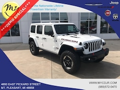 New 2018 Jeep Wrangler UNLIMITED RUBICON 4X4 Sport Utility 1C4HJXFG7JW188656 for sale in Mt Pleasant, MI