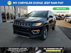 New 2021 Jeep Compass LIMITED 4X4 Sport Utility for sale in Mt Pleasant, MI